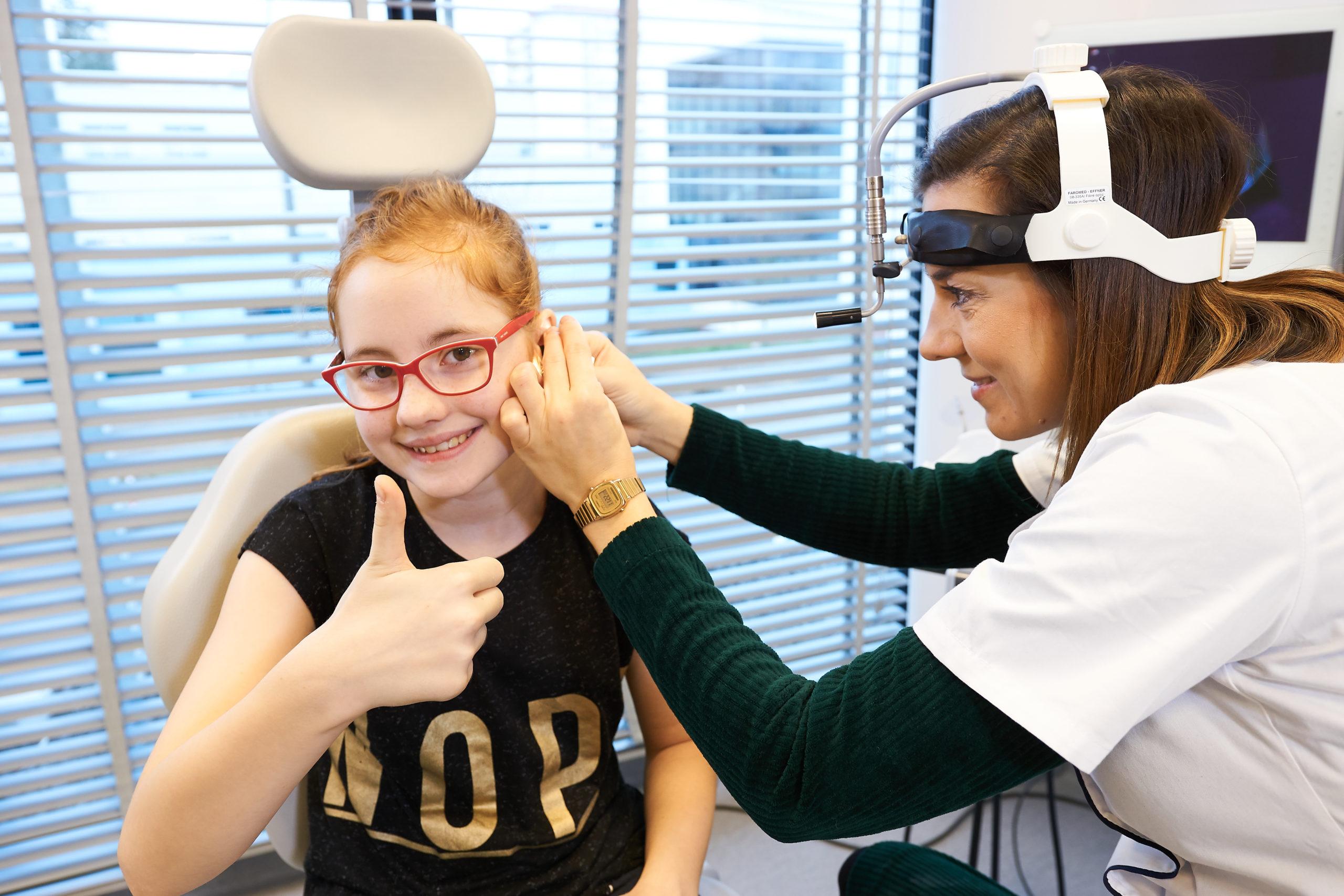 Badanie laryngologiczne ucha