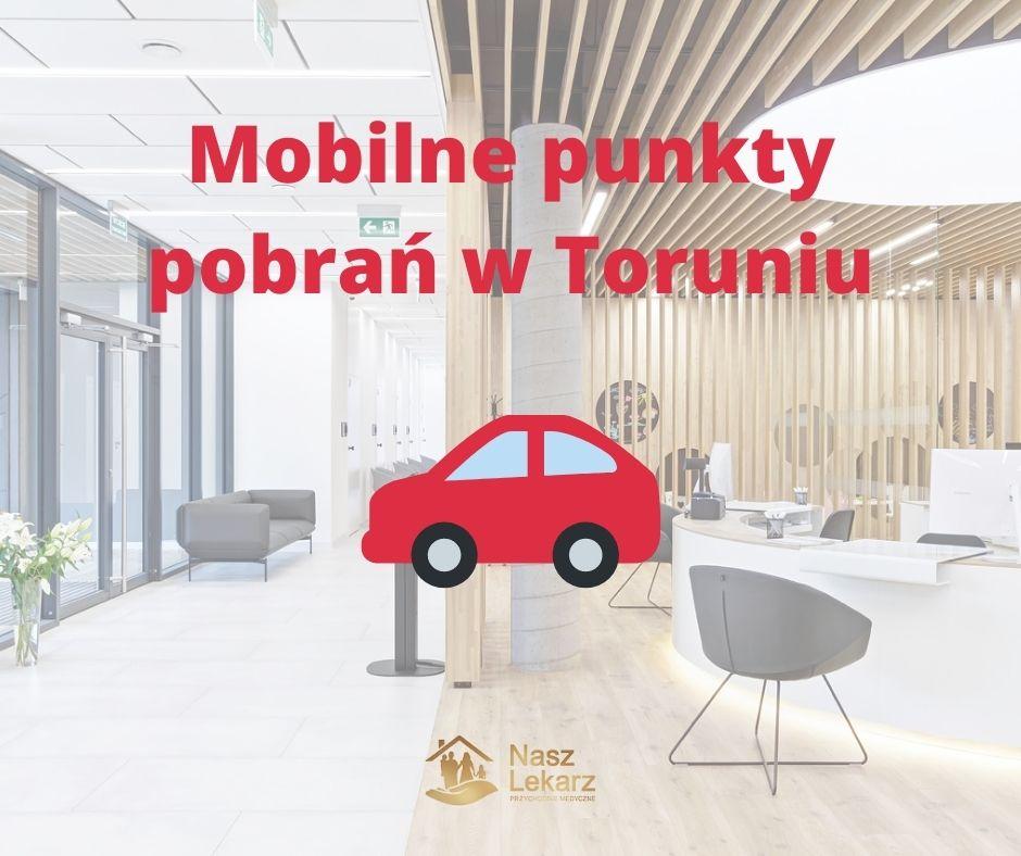 Mobilne punkty pobrań w Toruniu