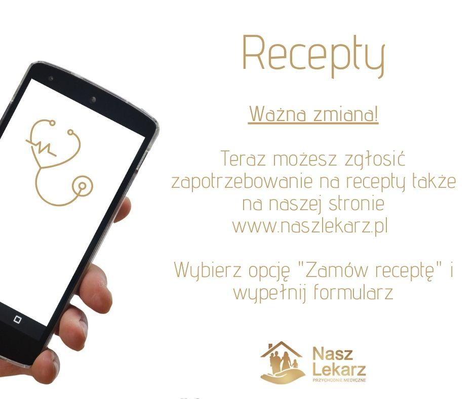Formularz zamawiania recept on-line