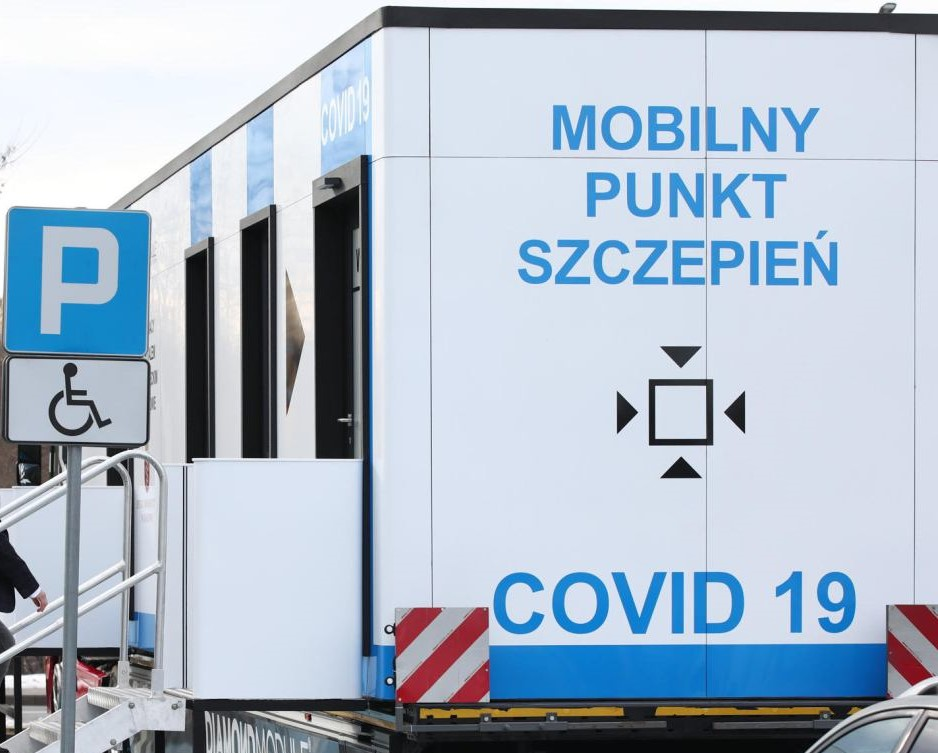 Mobilny punkt szczepień w Toruniu