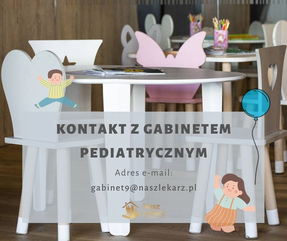 Kontakt z gabinetem pediatrycznym